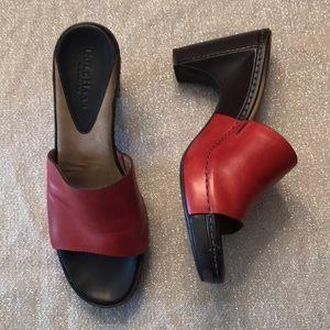 Cole Haan 8 1/2 red heels